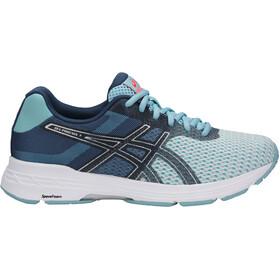 asics Gel-Phoenix 9 Shoes Women Porcelain Blue/Silver/Flash Coral